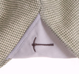 Milled Olive Houndstooth Button Down Sport Shirt