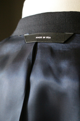 Navy Twill Weave Suit