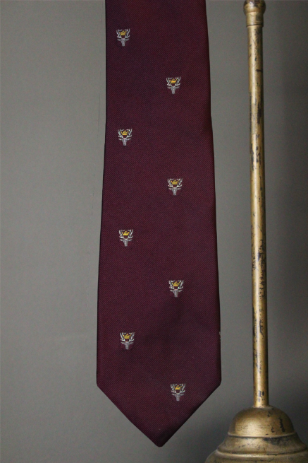 Woven Stagshead Tie