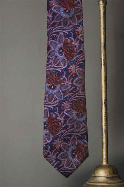 Woven Floral Paisley Tie