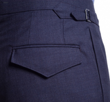 Char-Navy Worsted Suit
