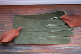 Deerskin Gloves in Loden Green