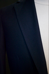 Navy/Black Basketweave Sportcoat
