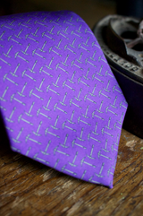 Printed Tossed Pick Axe Tie
