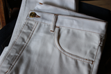 Selvedge White Jeans