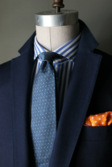 Washed Indigo Stretch Sport Coat