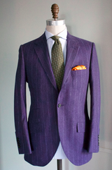 Bead Stripe Flannel Suit