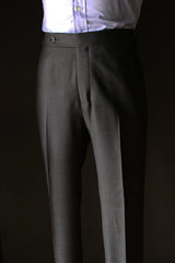 Charcoal Birdseye Suit