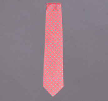 Woven Large Polka Dot Tie