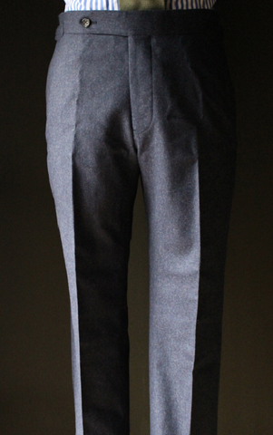 CharNavy Flannel Trouser