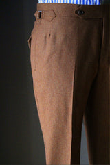Rust Flannel Trouser