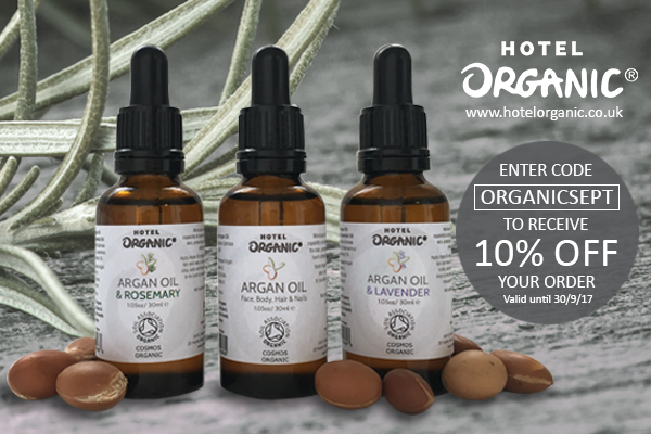 Celebrate Organic September with us & get 10% Off your order!