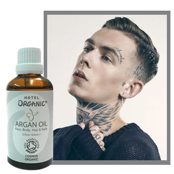 Model Alexander James Testimonial about Argan Oil