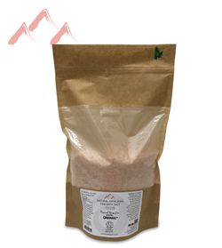 Natural Himalayan FINE Bath Salt BAG 1000g