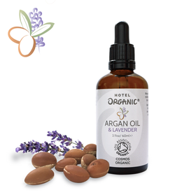 Argan Oil with Lavender Essential Oil, 100% Organic, Certified Organic, Relaxing, Miracle Oil