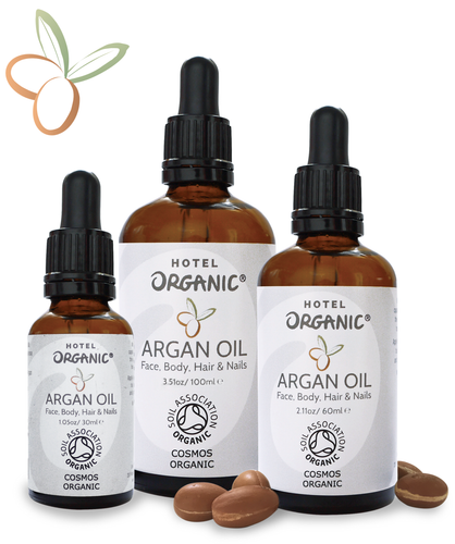 Handmade Moroccan Virgin Certified Organic Argan Oil