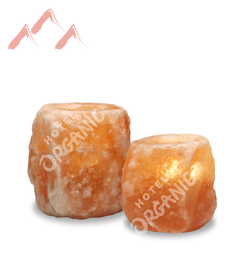 Himalayan Crystal Rock Salt Tealight Candle Holder