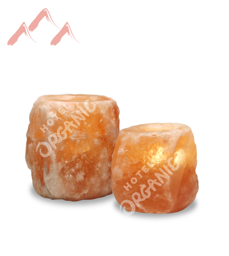 Himalayan Crystal Salt Tealight Candle Holder Small Large