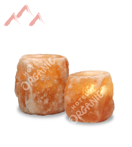 Himalayan Crystal Salt Tealight Candle Holder