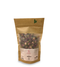 Certified Organic Rosebuds 50g, Biodegradable Bag