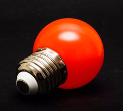 Safe light LED Globe/Bulb, Red E27 for Photographic Darkroom