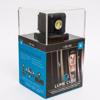 Lume Cube Black Compact LED Flash or Constant Photo Video LED Light