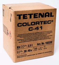 102230 Tetenal Colortec 2.5L C41 Colour Negative Film Developing Kit