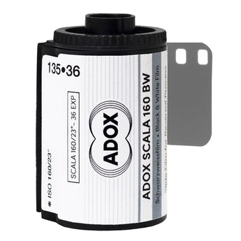 1x ADOX SCALA 160 35 Black & White Slide Reversal Film 135/36