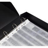 ADOX Enclosed Ring Binder box for Film negative sleeve pages - All Sizes.