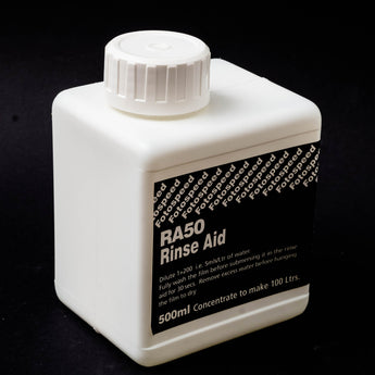 Rinse/Wash Aid, Fotospeed RA 50 for Photographic Film, aids in even streak-free drying[BDWC]