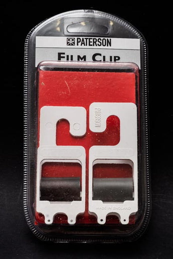 Paterson Photographic Film Hanging Clip Set of two, one weighted