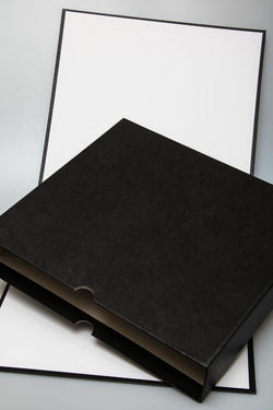 Archival Ring Binder Box, for Film Negative Sleeve Pages, specially oversize to prevent 'overhang',S3