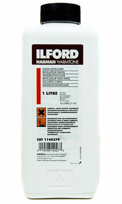 1140279, Ilford Harman Warm Tone B&W Paper Developer, 1Litre