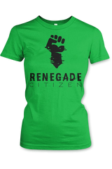 Ladies T-Shirt RenegadeCitizen Logo