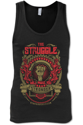 The Struggle Mens Tank Top