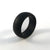 Men's Black Silicone Ring
