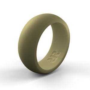 Men's Desert Tan Silicone Ring