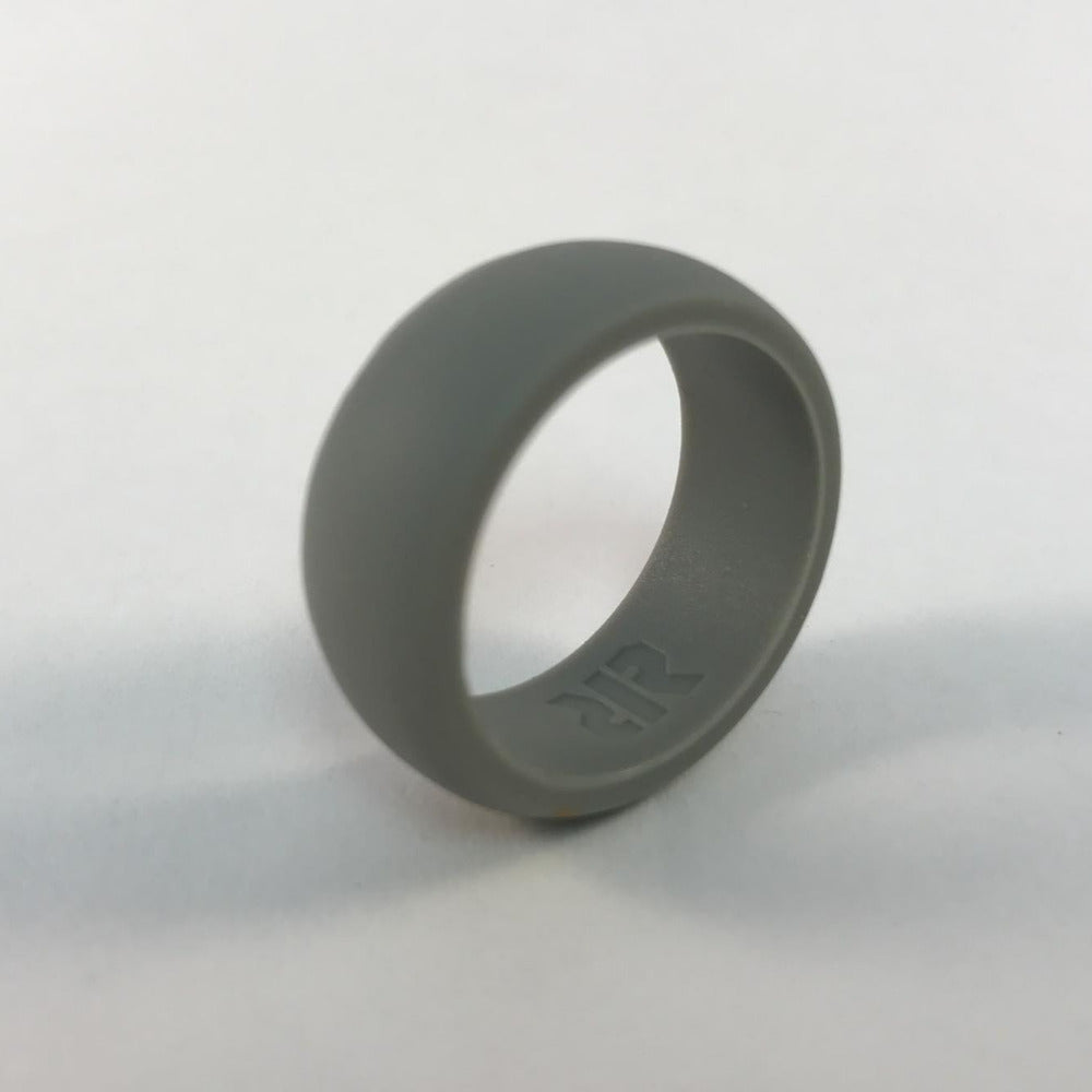 Mens Gray Silicone Wedding Ring RECON Rings