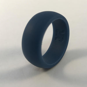 Men's Blue Silicone Wedding Ring