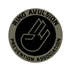 Ring Avulsion Prevention Association Stickers