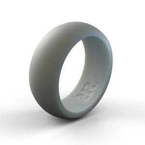 Men's Gray Silicone Wedding Ring