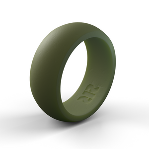 Men's Green Silicone Ring