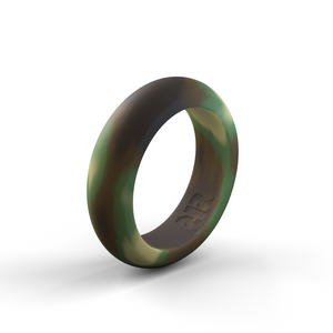 Women's Camo Silicone Ring