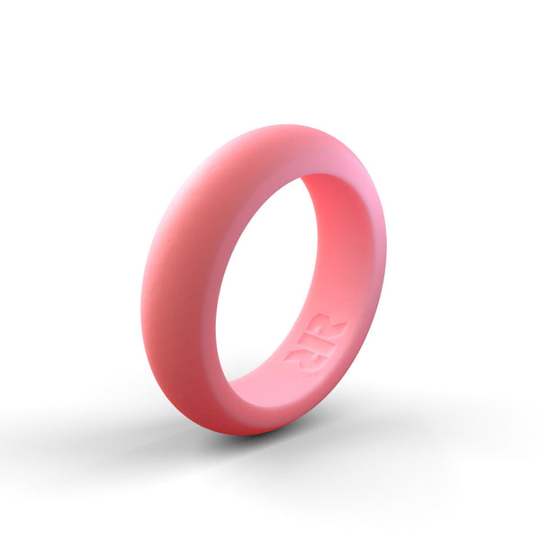 Women's Light Pink Silicone Ring