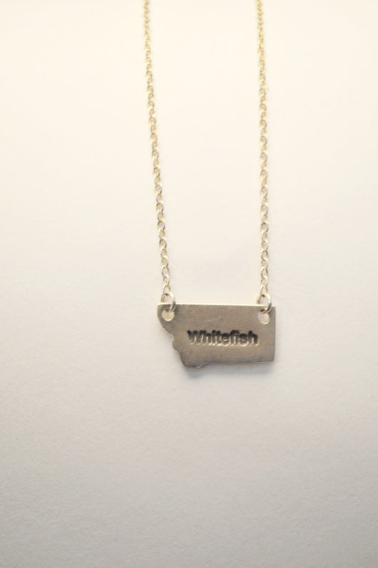 Whitefish, Montana Necklace