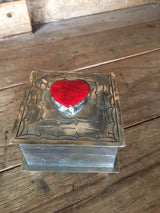 Stone & Silver Treasure Box