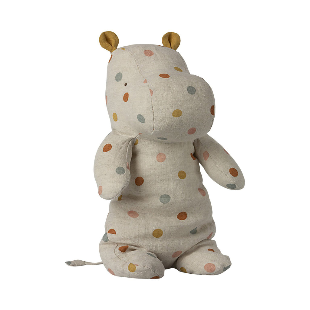 Peluche Safari HIPPO - Medium Polka dot