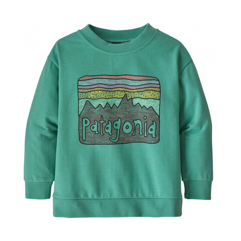 Pull coton BIO Patagonia - Light Beryl Green