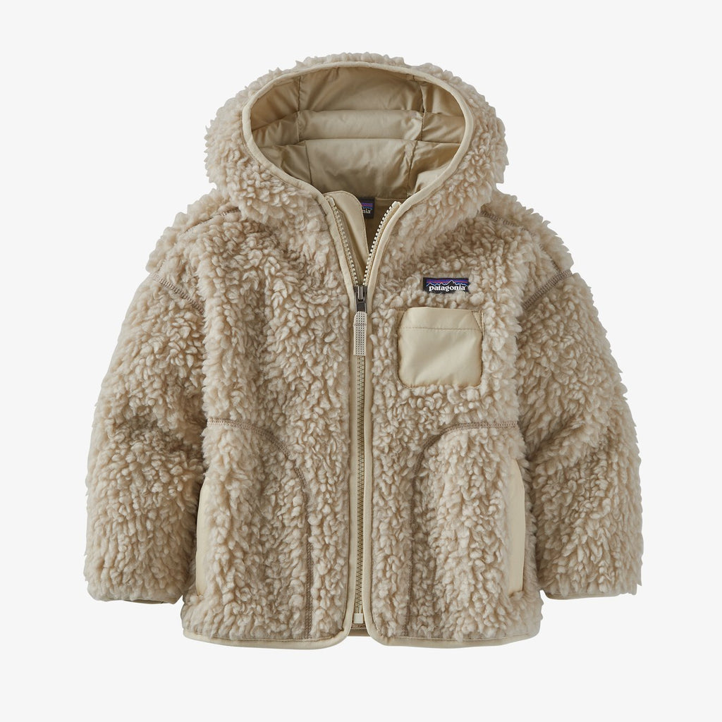Manteau baby Retro-X hoody - Naturel