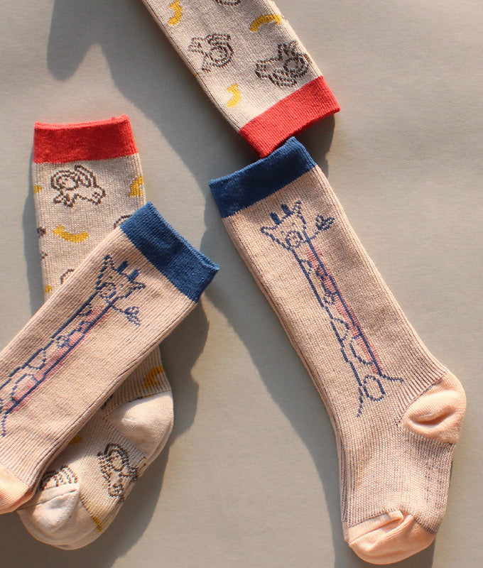 Chaussettes hautes antidérapantes (pack of 2) - Good mates